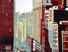 Vue du Flatiron Builing – New York