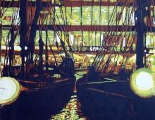Saint katharine Docks in the City – London