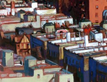 From the Heights – New-York (Peinture)